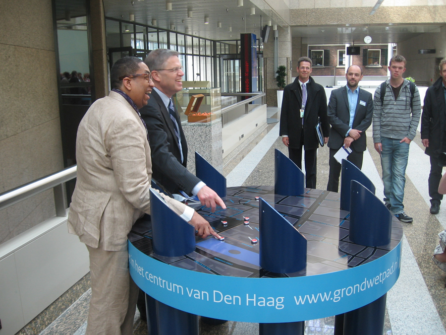 Tweede Kamer Den Haag, Expositie Het Haagse Grondwetpad