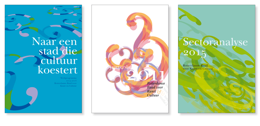 Uitgaven Rotterdamse Raad voor Kunst & Cultuur